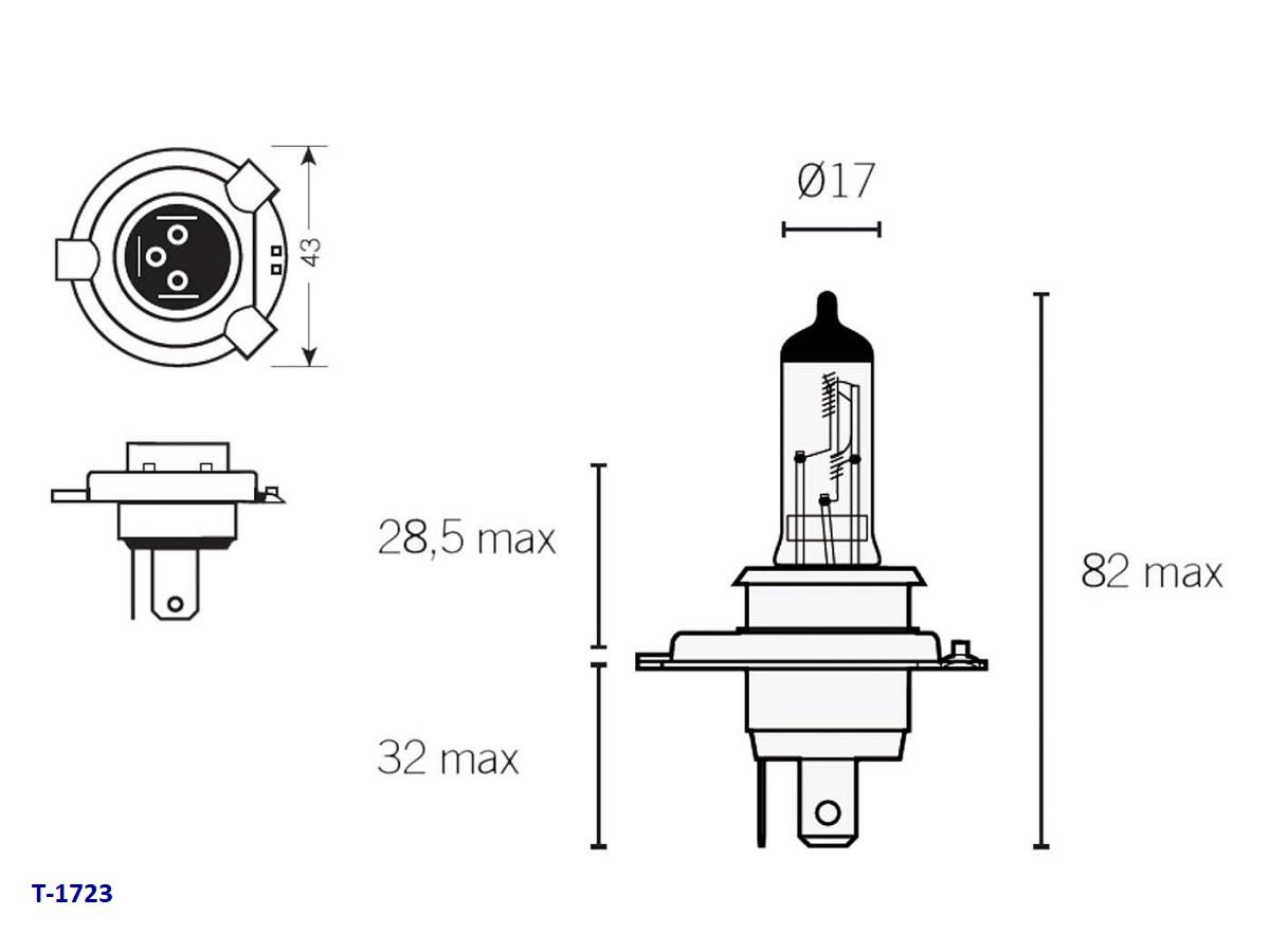 h4 lampen unterschiedliche sockel